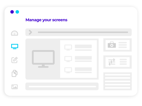 HP manage your screens